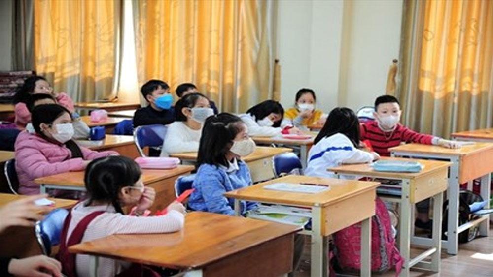 Bộ Giáo dục đề nghị cho học sinh mầm non, tiểu học, THCS tiếp tục nghỉ học